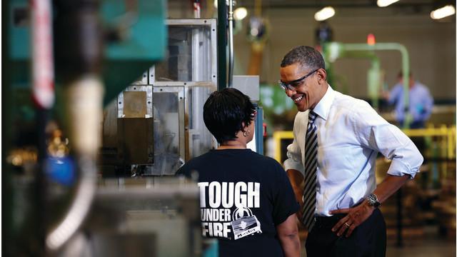 The Great Event: President Obama Addresses Master Lock
