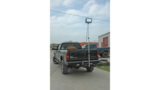 Trailer Hitch-Mounted LED Work Lights
