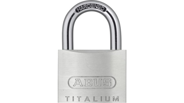 ABUS Introduces TITALIUM™ Padlocks