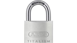 ABUS Introduces TITALIUM™ Padlocks