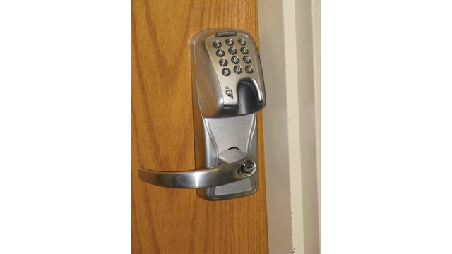 College Increases Security By Moving From Mechanical Locks