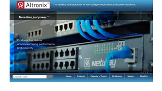 New Altronix Website Delivers Greater Functionality