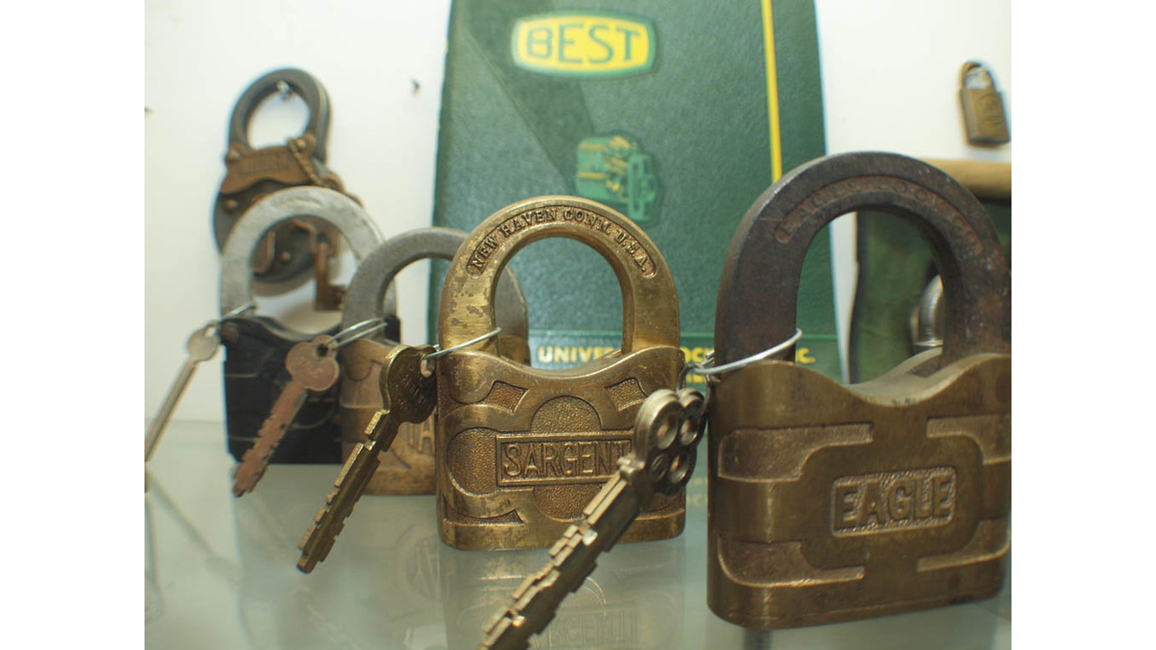 Lock Museum Of America Aisplays Include The Original