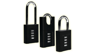 Ergonomic Combination Padlocks