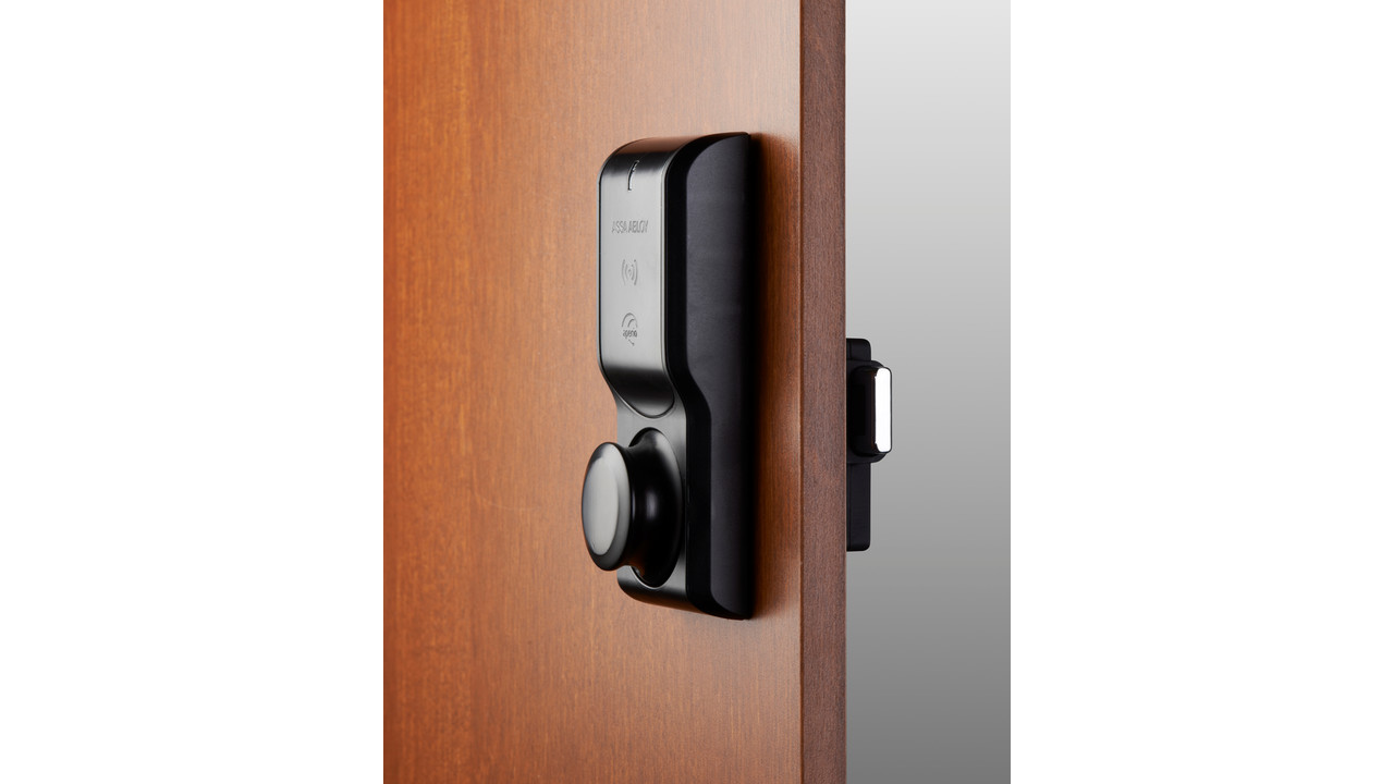 The Hes K100 Wireless Cabinet Lock With Aperio Technology