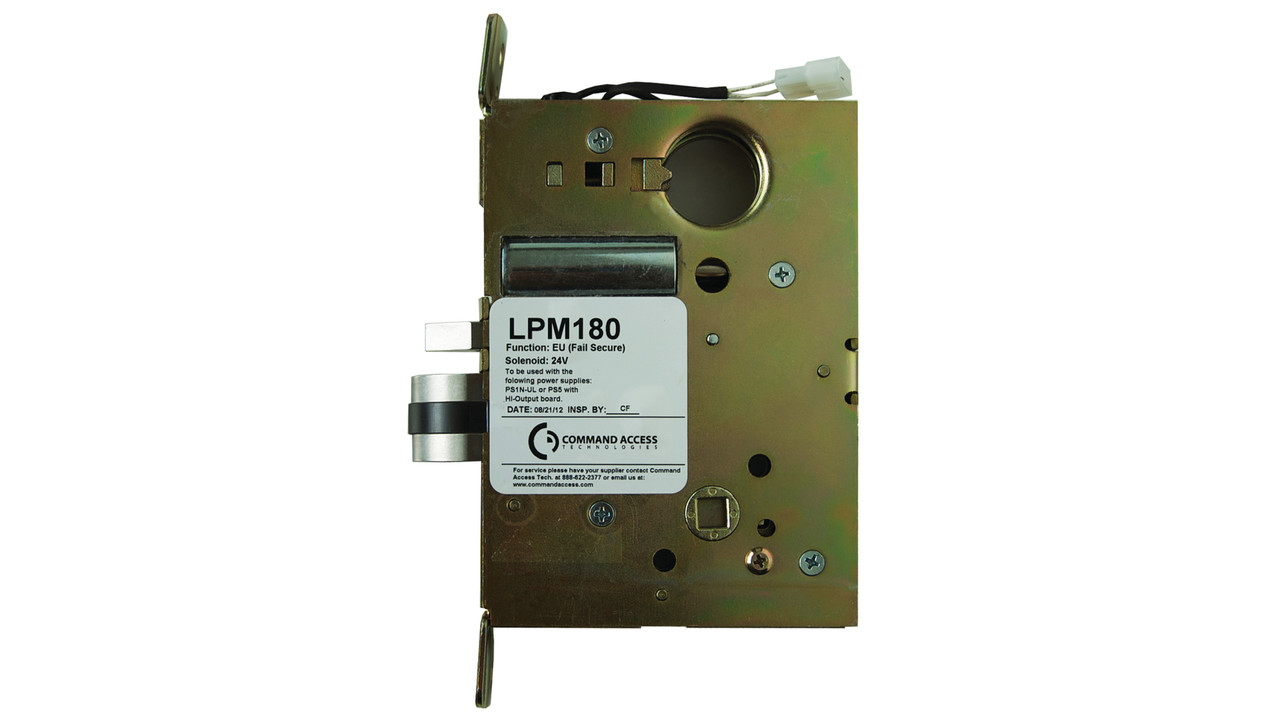 Electrified Mortise Lock Command Access Lpm180 Manual Guide
