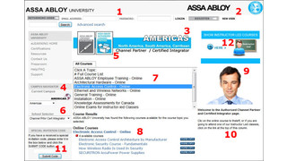 ASSA ABLOY Americas University eLearning Website Gets Upgrade