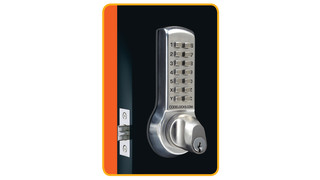 Codelocks CL 300 Series Brings Single-Code Keyless Entry To Any Swinging Door