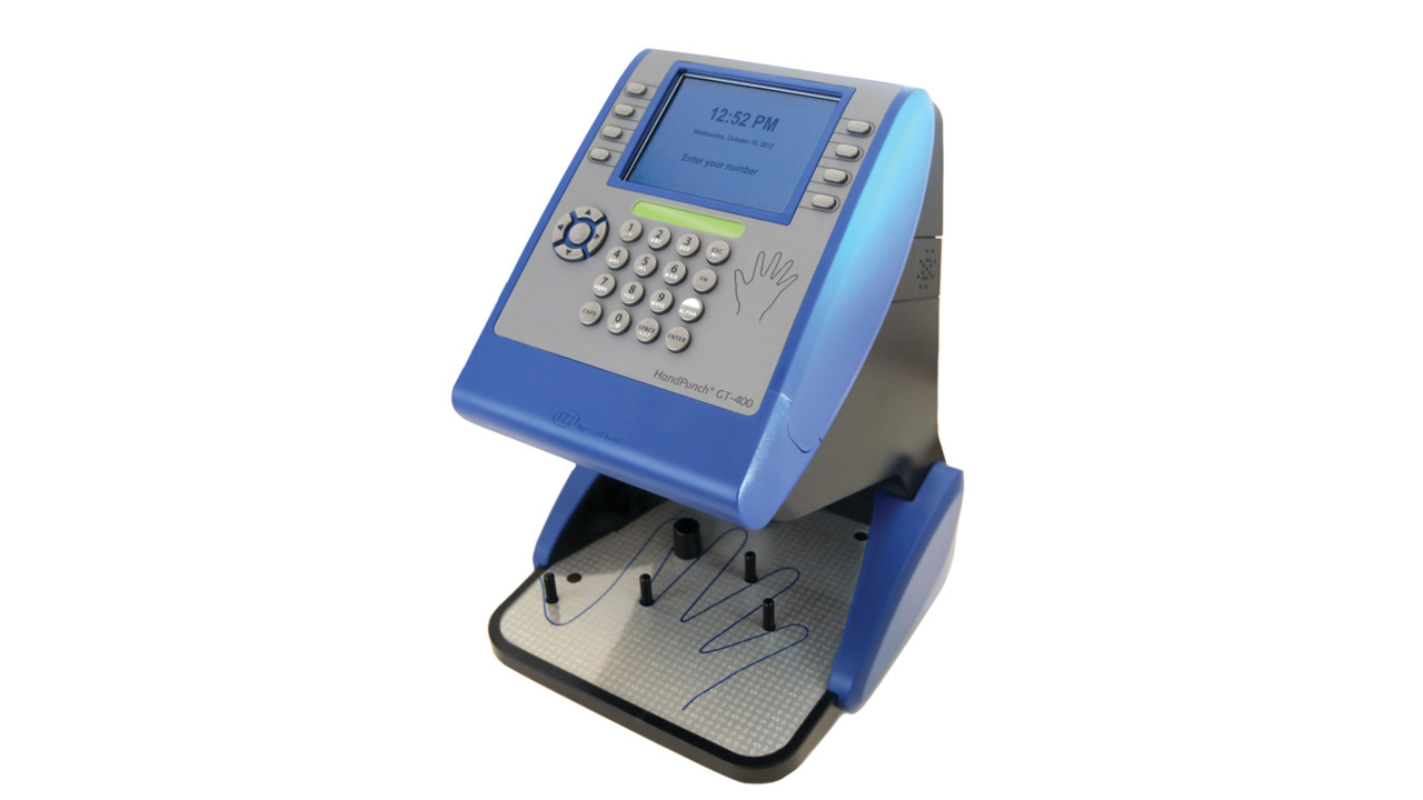 Biometric Handpunch Gt 400 Locksmith Ledger