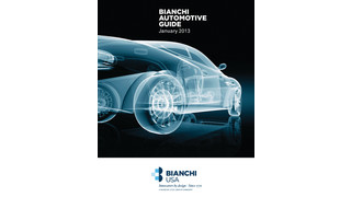 Bianchi USA 2013 Automotive Guide