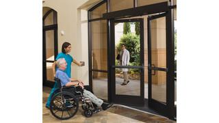 Detex Automatic Swing Door Systems Meet Specific Healthcare Needs