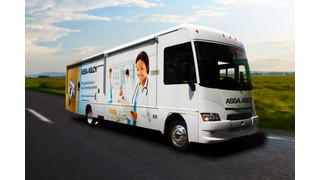 ASSA ABLOY's New Healthcare Solutions Mobile Showroom Makes a House Call at NFMT 2013