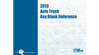 Ilco® Releases 31st Annual North American Auto/Truck Key Blank Reference