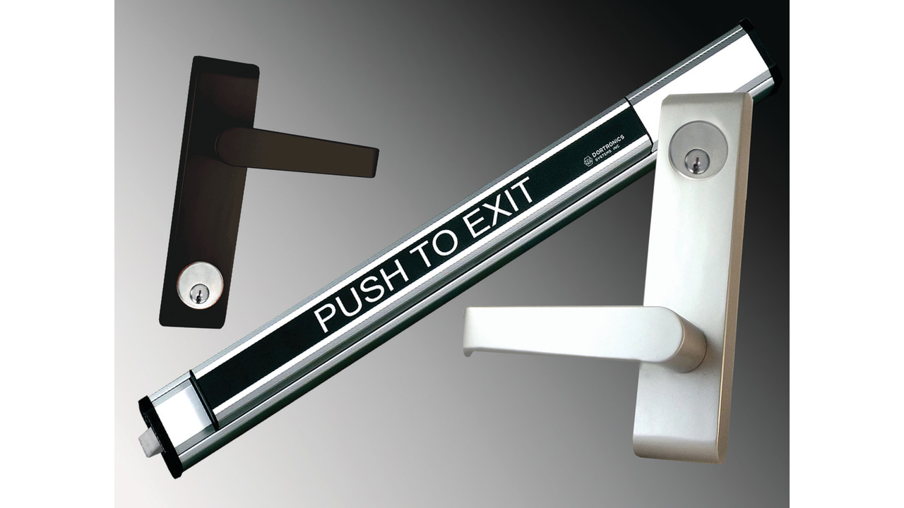 Rim Panic Exterior Lever Handles Locksmith Ledger