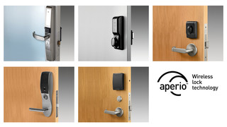 ASSA ABLOY Showcases Expanded Range of Aperio Wireless Locks at ISC West 2013