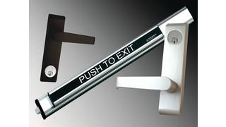 Panic devices locksmith ledger for Exterior panic hardware