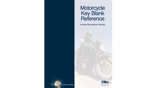 Kaba Ilco Releases Updated Motorcycle Key Blank Reference