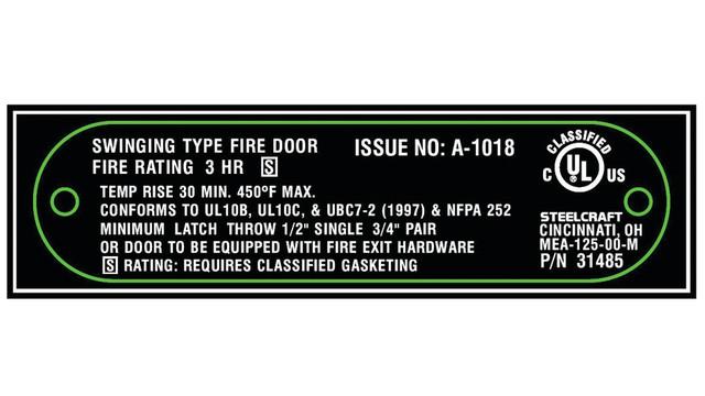 Fire Door Inspection Opportunity Knocks Locksmith Ledger