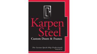 Custom Steel Frames & Doors