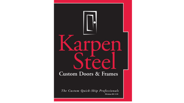 Custom Steel Frames & Doors