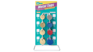 Metal Key Tag Counter Display
