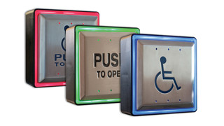Aura™ LED Pushplates