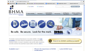 BHMA Moves Certified Products Directory Online, Streamlines Web Site
