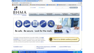 BHMA Exit Hardware Standards Make Buildings Safer