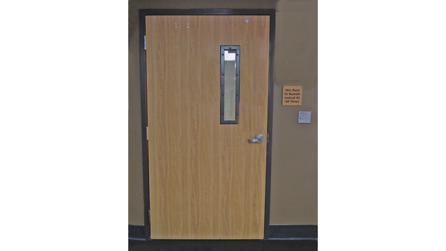 Delayed Egress Applications For Hospitals Locksmith Ledger
