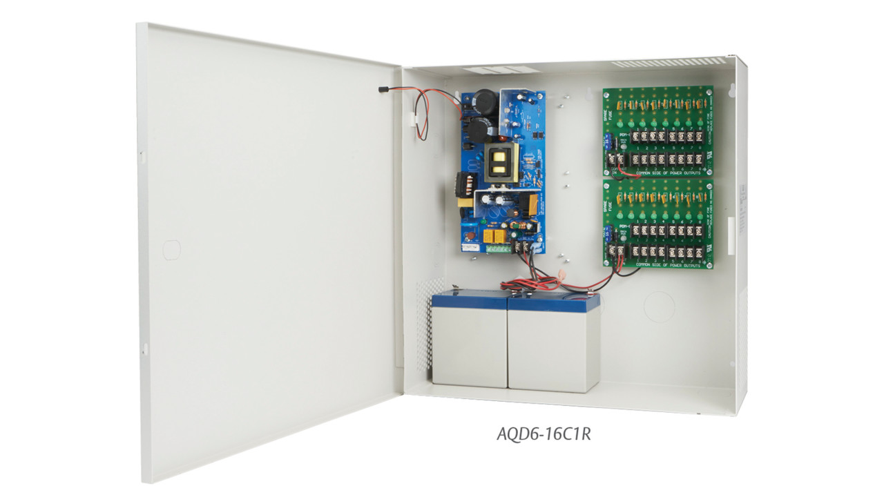 aqd6 series power supplies locksmith ledger. Black Bedroom Furniture Sets. Home Design Ideas