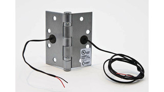 Electrifying Door-Mounted Locks, Contacts and Switches With Power Transfer Devices