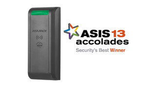 Securitron R100 Surface Mounted Wireless Reader Wins ASIS 2013 Security's Best Award