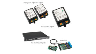 AQE Series PoE Power Supplies