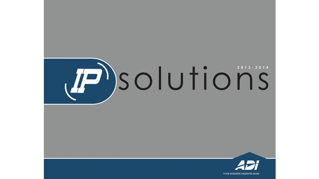 2013-14 IP Solutions Catalog