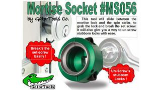 Mortise Socket #MS056