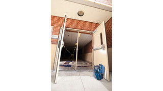 Detex Battery-Powered Door Prop Alarm System Key For Campus Security
