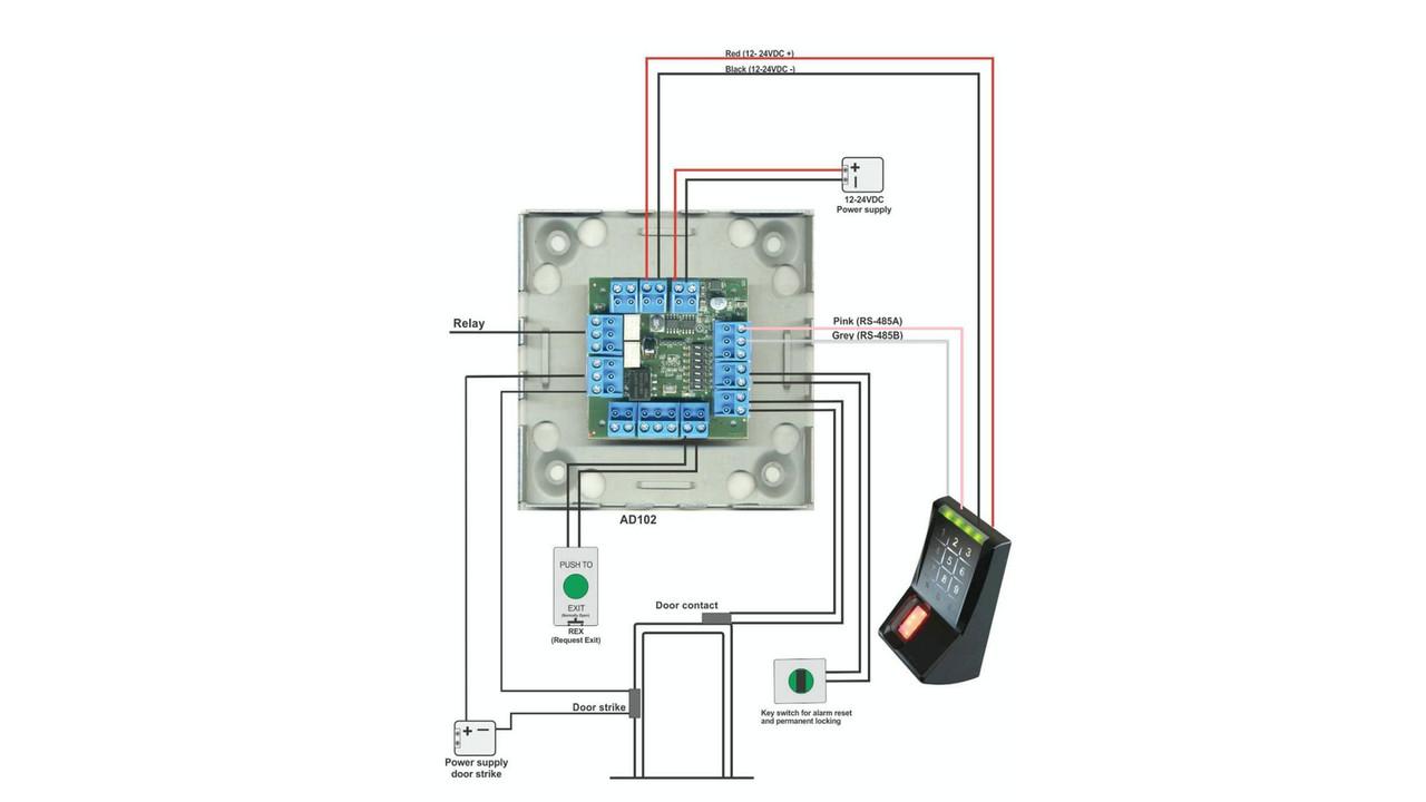 kaba ad102 kit opens the door to biometrics locksmith ledger rh locksmithledger com. Kaba Power Supply Wiring Diagrams ...