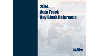 32st Annual Edition of the Ilco® North American Auto/Truck Key Blank Reference Released