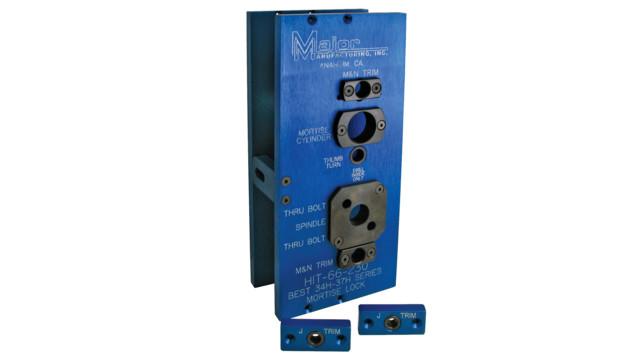 Guide to mortise lock installation jigs locksmith ledger for Corbin russwin templates
