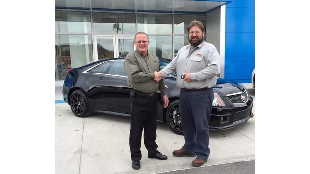 ADI Dealer Wins New Cadillac
