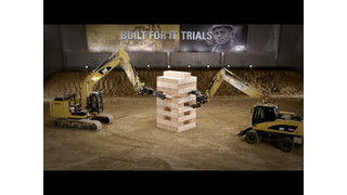 Built For It™ Trials - Stack: Largest Board Game Played with Cat® Excavators