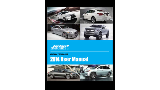 TCode Pro/MVP User Manual