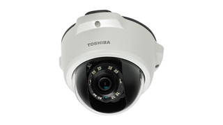 Toshiba Wide Angle IP Cameras Provide 20% More Viewing Area