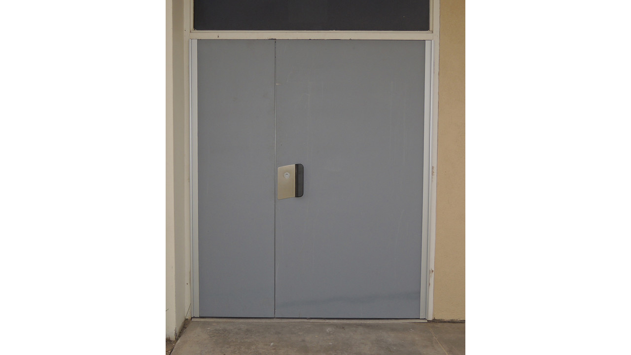 Replacement Double Doors Secure Office Building Part 2