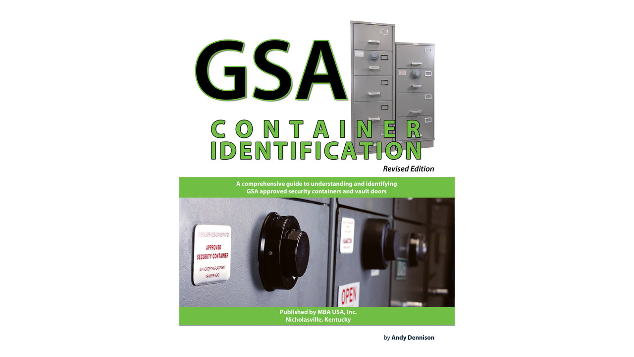 Gsa Container Identification Revised Edition Now