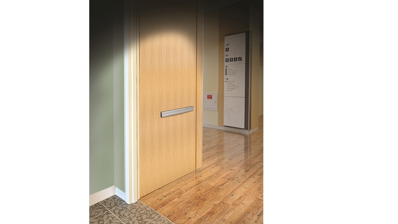 Adams Rite Launches True Wood Door With Inset Fire Rated
