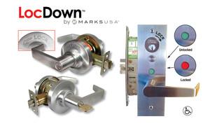 Loc-Down™ Classroom Intruder Locksets