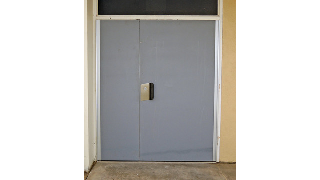Replacement Double Doors Secure Office Building, Part 2