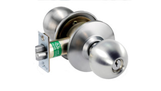 HK Cylindrical Knob Lockset