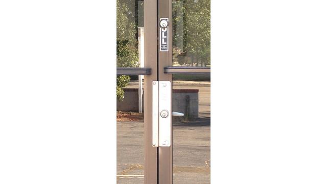 Replacing A Narrow Stile Aluminum Door Lock With An Exit
